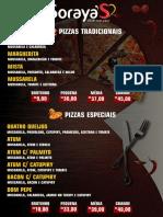 Cardápio Soraya's Pizzas