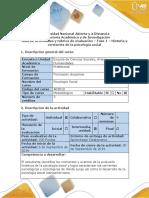 Guía de actividades y rúbrica de evaluación - Fase 1 - Historia y corrientes de la psicología social (1).docx