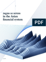 Sign of Stress in the Asia Financial System
