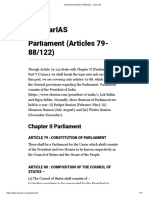 Parliament (Articles 79-88-122) - Clear IAS