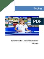 infomercial income