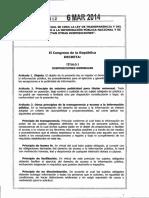 LEY 1712 - 14 LEY DE TRANSPARENCIA Y DEL DERECHO DE ACCESO.PDF