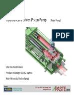 Pulsation free (Piston Pump)