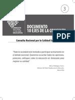 Consulta Nacional por la Calidad Educativa. Documento 10 ejes de la consulta.pdf