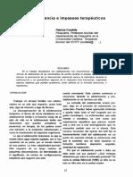 Cordella, P. Adolescencia e Impasses Terapeuticos0001