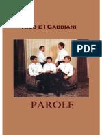 Nico e i Gabbiani - PAROLE