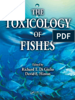 The Toxicology of Fishes
