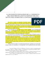 Solve Et Repete Inconstitucionalidad- Lavie Pico