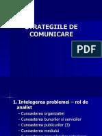Strategii de comunicare