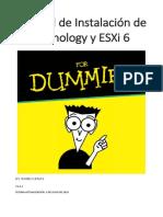 Manual de Instalación de Xpenology y ESXi 6 v1.2.1