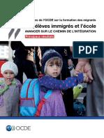 Les Eleves Immigres Et Lecole Avancer Sur Le Chemin de Lintegration