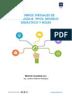SECUNDARIA B- SEPARATA Entornos Virtuales de Aprendizaje. Tipos, Modelo Didáctico y Rol Del Docente.