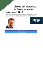 Las 10 claves del impuesto a la renta financiera para invertir en 2018.docx