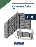 Moldaje Doka - Frami 270