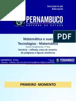 Simetria – Reflexão, Eixos de Simetria de Polígonos e Figuras Simétricas