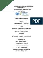 Monografia - Laboral - Desalogo Por Ocupante Precario 2019