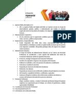 Funciones Dependencias CDA Chia