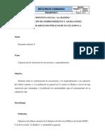 Capacitación de Emprendimiento y Asociación