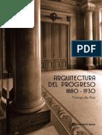 Arquitectura del progreso Argentina 1880/1930