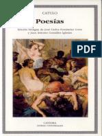 Catulo Poesías (Cátedra)