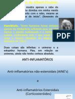 Aula 01 Anti Inflamatórios