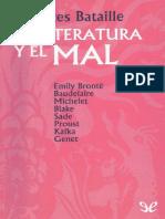 Bataille, Georges (1957) - La Literatura y El Mal