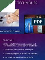 Aceptic Techniques 1