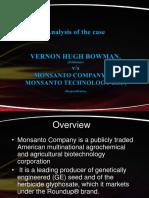 Bowman vs Monsanto