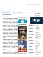 What is Data Warehouse? Benefits & Problems of Data Warehousing..pdf