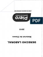 Derecho Laboral Teorico Practico - Piero 2015