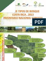 Tipos de Bosque - Costa Rica 2013