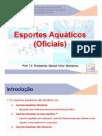 Aula - Esportes Aquáticos Oficiais