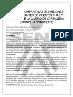 análisis de contaminación
