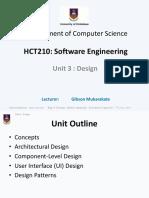 HCT210 Lecture Notes - Unit 3