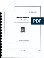 Bozza,E.agrestide Pno Ed.leduc