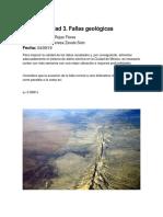 Actividad 3  Fallas geológicas,,,,,,,,,,,,