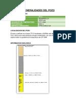 Generalidades Del Pozo Cementos