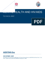 Aidstar-One Mental Health and Hiv Updated Cover