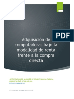 Renting vs Compra Directa - Informe