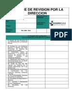 Informe de Revisión Por La Dirección 2