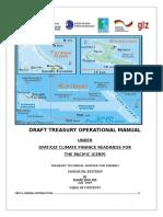 Draft Treasury Operational Manual 2019
