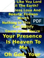 Worship song ppt