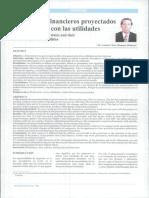 Los Estados Financieros Proyectados y Su Relación Con Las Utilidades