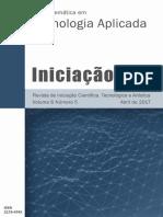 Revista de Iniciação Científica, Tecnológica e Artística
