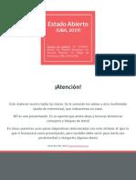 Estado Abierto - UBA, 2019 (TP IG+OGP)