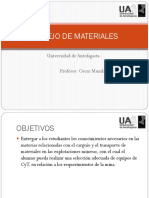 Manejo de Materiales Ua Omm 1 y 2
