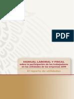 MANUAL LABORAL Y FISCAL sobre la participación de los trabajadores en las utilidades de las empresas 2019.pdf