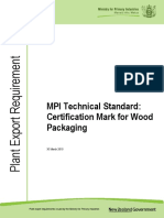 Certification Mark for Wood Packaging