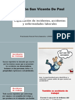 Capacitación de Incidentes, Accidentes y Enfermedades Laborales
