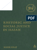 Rhetoric and Social Justice in Isaiah